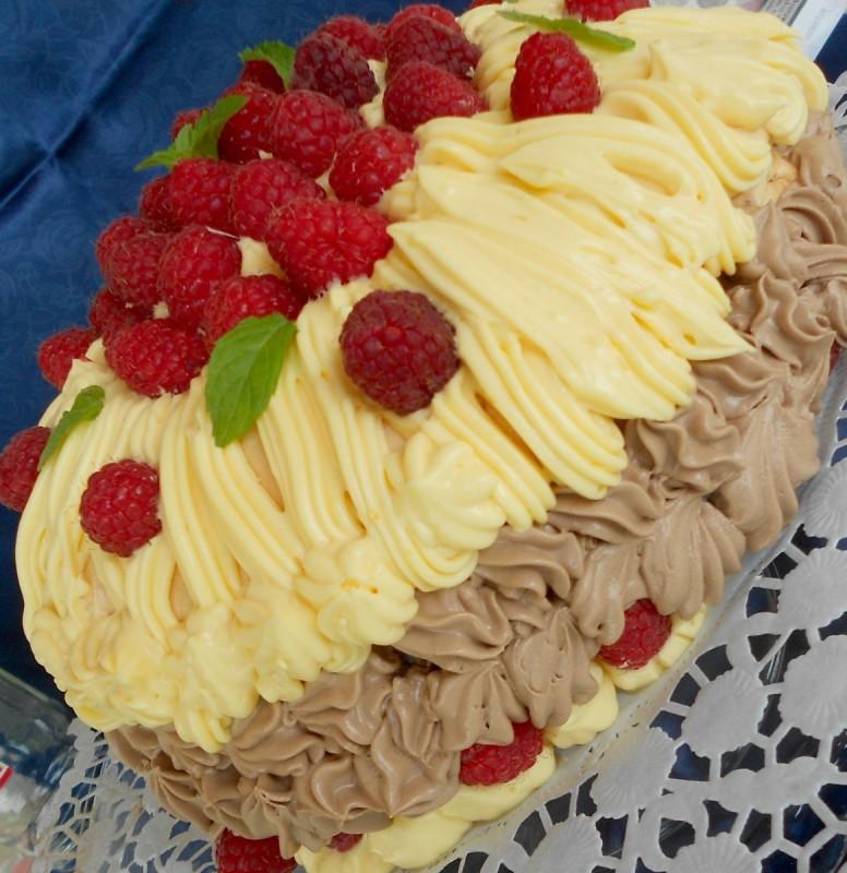 Торта малинест облак (без брашно) - 900ти јубилеен рецепт