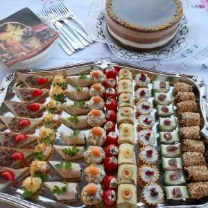 Милениумска торта и канапеи -мој 1000 јубилеен рецепт