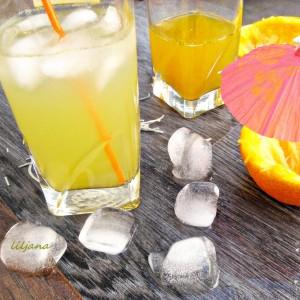 Пијалок од портокал, ѓумбир и рузмарин