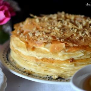Баклава торта со палачинки