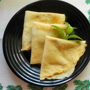 Слатки палачинки со батат компир и ванила