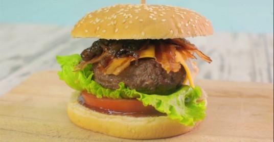 Видео рецепт: Печен бургер
