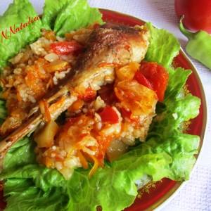 Мисирка со ориз и кисело јаболко