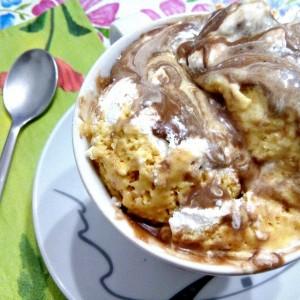 Трислоен сладолед