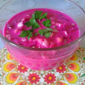 Летна супа - Цвекољник