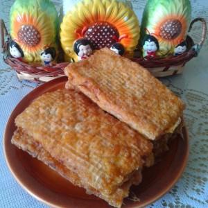 Пирошки на мој начин (обланди со мелено месо)