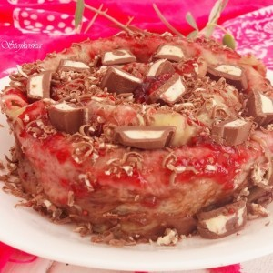 Вртена торта од палачинки