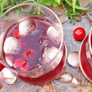 Сок од вишни и малини (зимница)