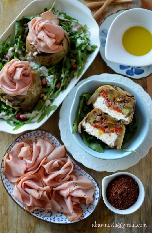 Солени тортички со зеленчук и урда