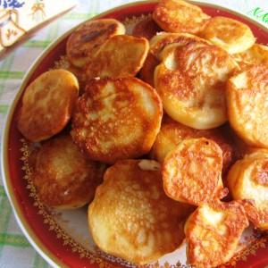 Поховани тиквички во тесто со кисело млеко
