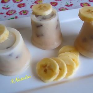 Сладолед со банана и чоколадо