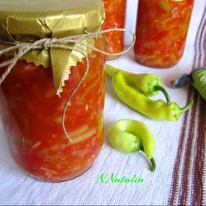 Лечо со пиперки и домати
