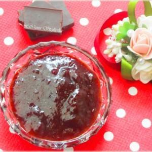 Мармалад од црни сливи со чоколадо