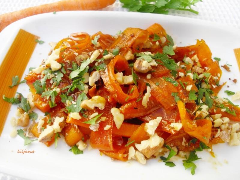 Глазиран морков
