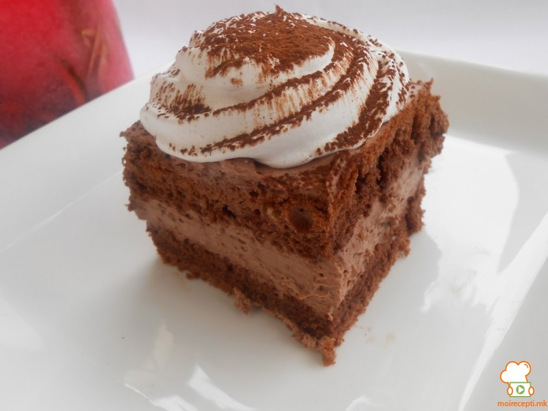 Крем чоколадни коцки