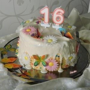 Праска торта