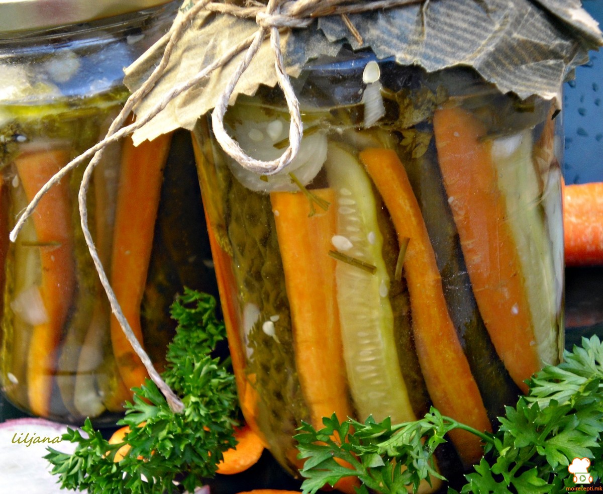 Режани краставички   зимница