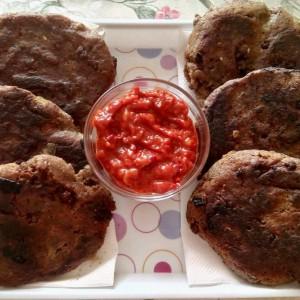 Хељдини лепчиња со мелено месо (хроно)