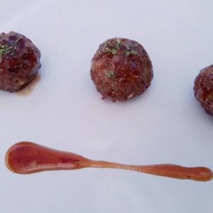 Ќофтиња од месо со ѓумбир во слатко кисел сос
