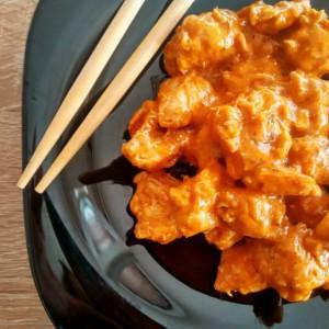 Пилешко гарам масала кари (Индиска кујна)