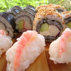 3 вида суши (Азиска кујна)