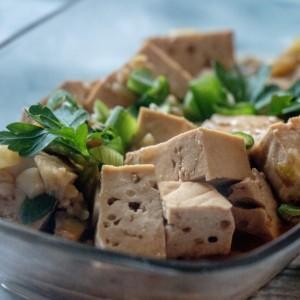 Мапо тофу (тофу во црвен чили сос - кинеско)