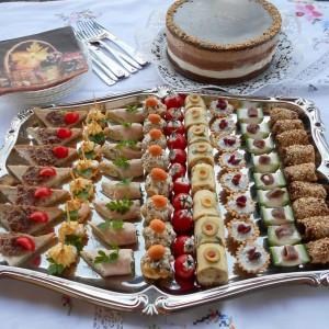 Милениумска торта и канапеи-1000 рецепт
