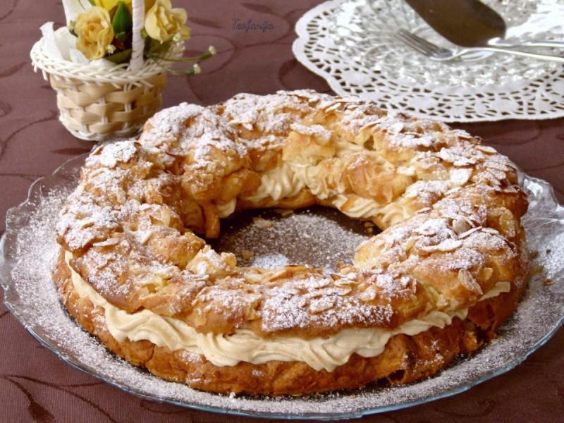 Париз – Брест колач (јубилеен 800ти рецепт)