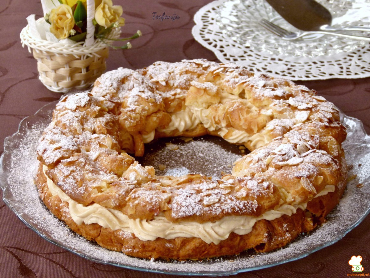 Париз   Брест колач  јубилеен 800ти рецепт
