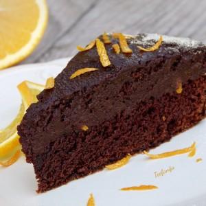 Чоко-оранж колач