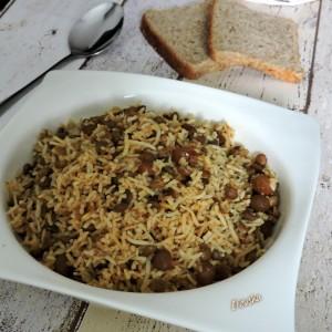 Adas-Polo Персиски ориз со леќа