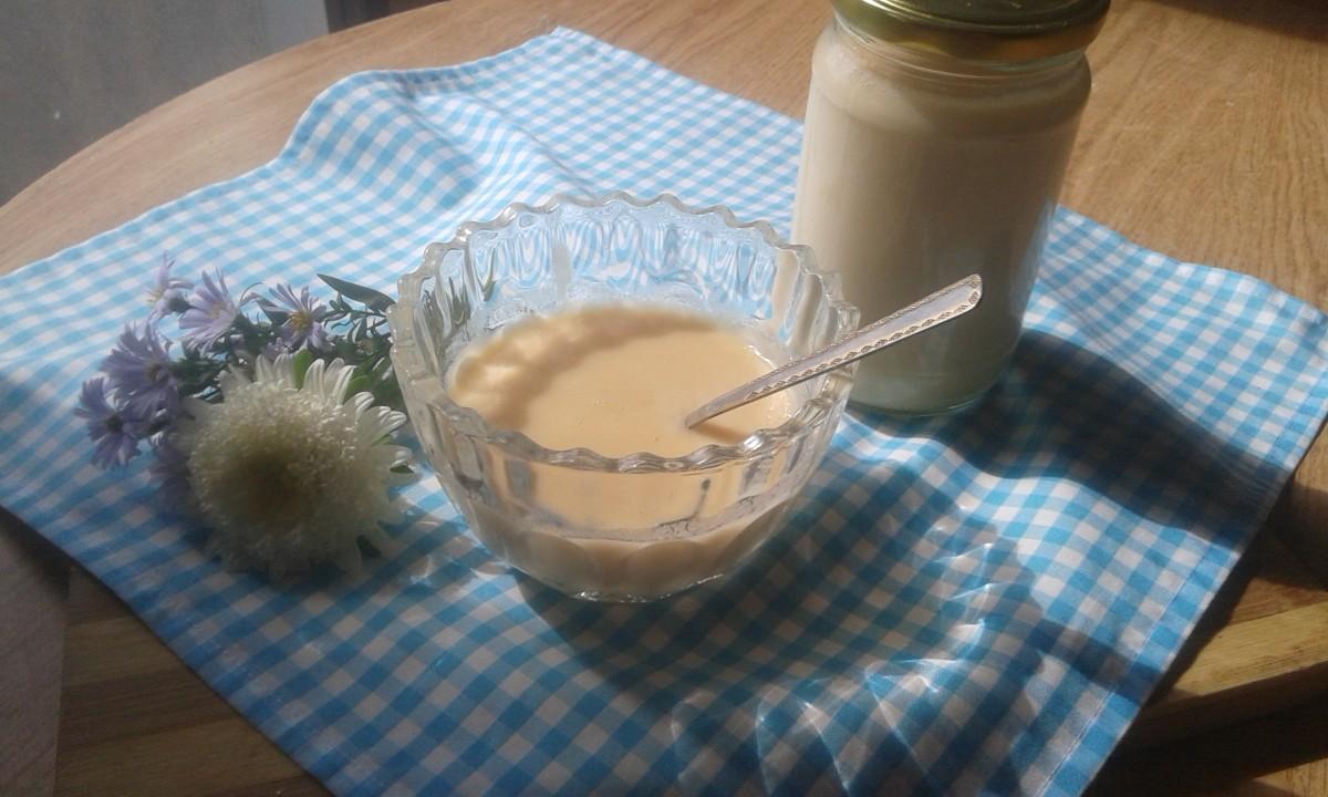 Домашно кондензирано млеко