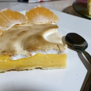 тарт со мандарини