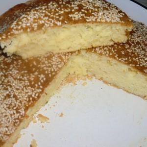 Брза солена торта (погача)