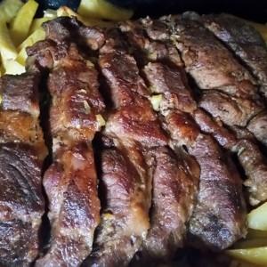 Печени свински вратни кременадли