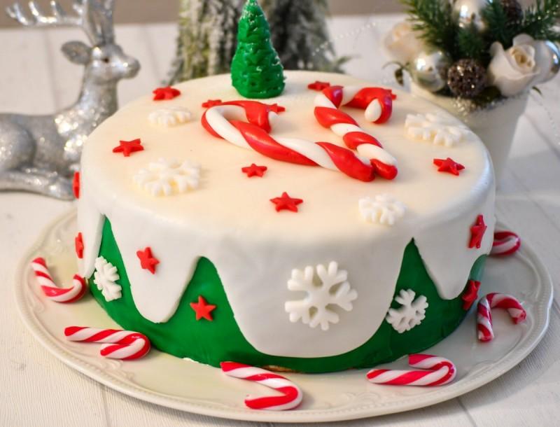 Божиќна торта (Жито торта)