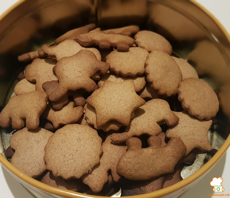 Вкусни чајни бисквити со ѓумбир