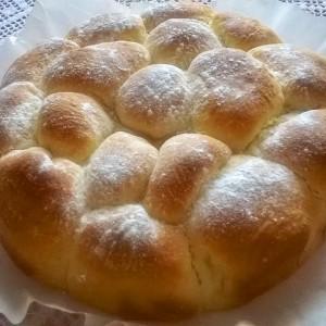 Печени крофни со мармалад (бухтле)