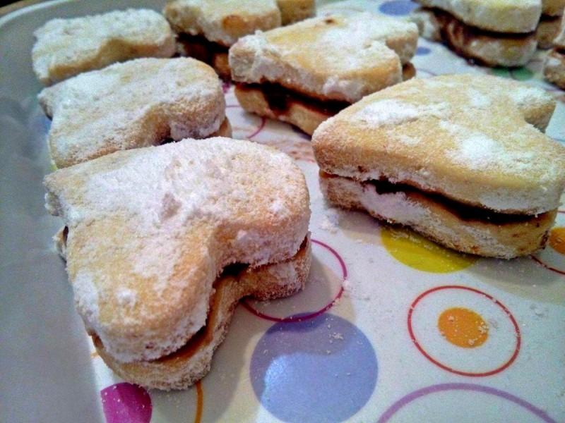 Бадем колачи со портокал (посно)