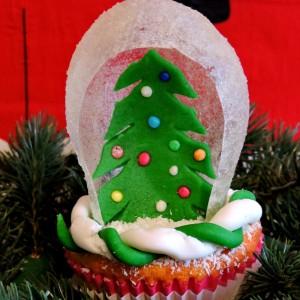 Новогодишна декорација на мафини