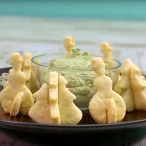 Видео рецепт: Переци со пармезан и сусам