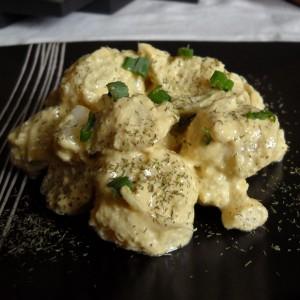 Компир салата со мајонез