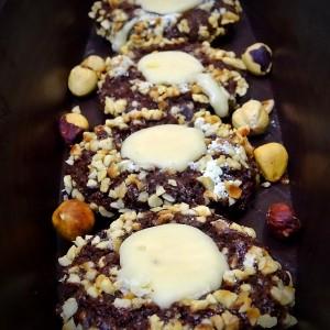 Чоколадни лешник-карамел гнезда