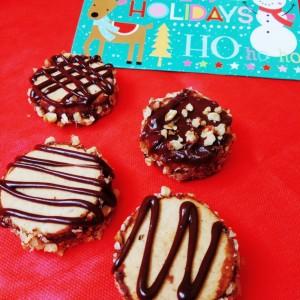 Новогодишни чоко орев колачи
