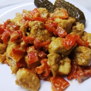 Стек со пиперки во сенф (хроно)