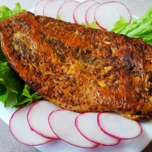 Мариниран мисиркин стек на грил тава