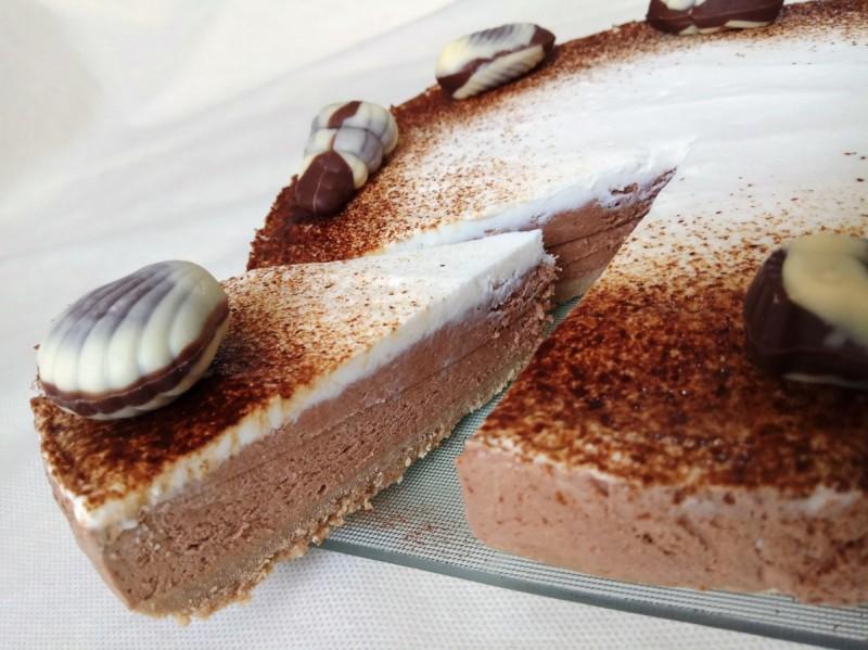Чоколаден чизке�к со кафе