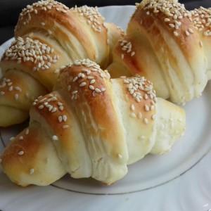 Линдини кефир-путер кифли