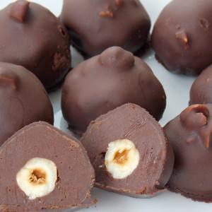 Чоколадни дулче де лече бомбици