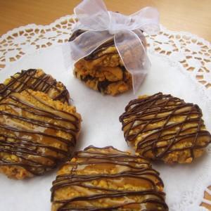 Сникерс бисквити